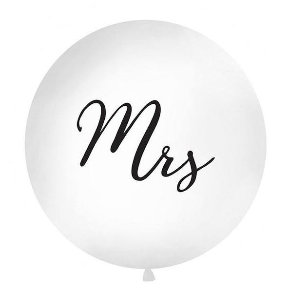 1 Mrs Wedding Balloon - HoorayDays