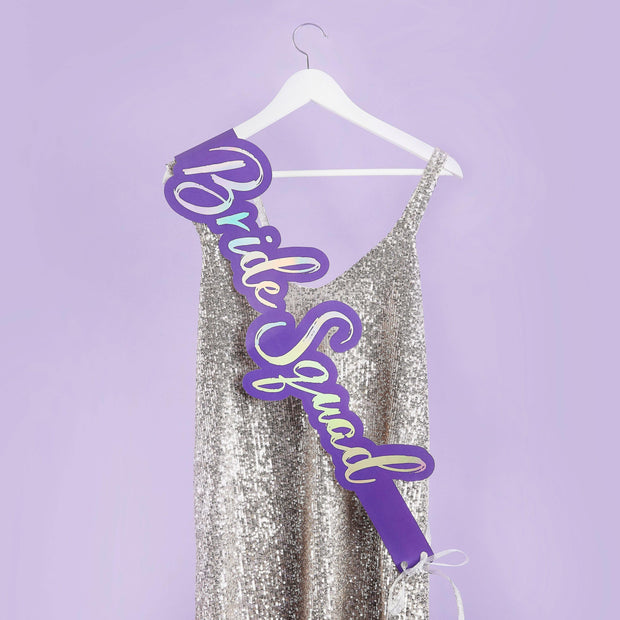 1 Hen Party Bride Squad Sash - HoorayDays