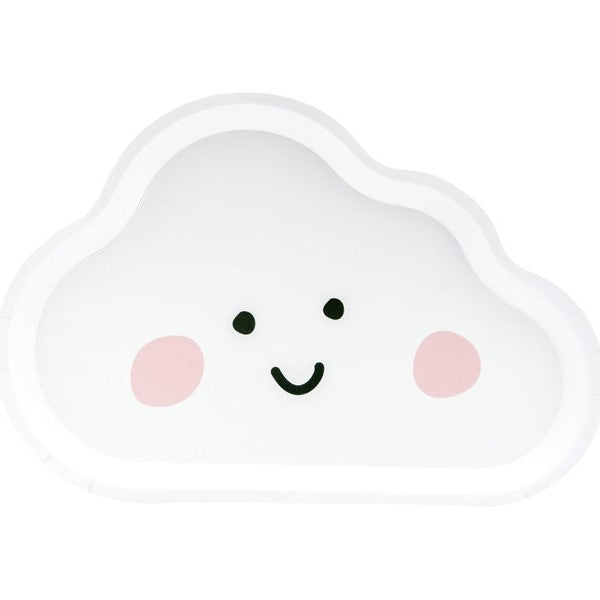 Cloud Party Plates