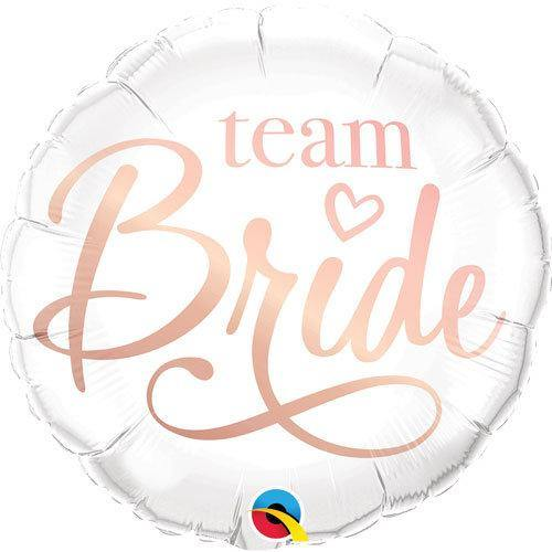 1 Team Bride Balloon - HoorayDays