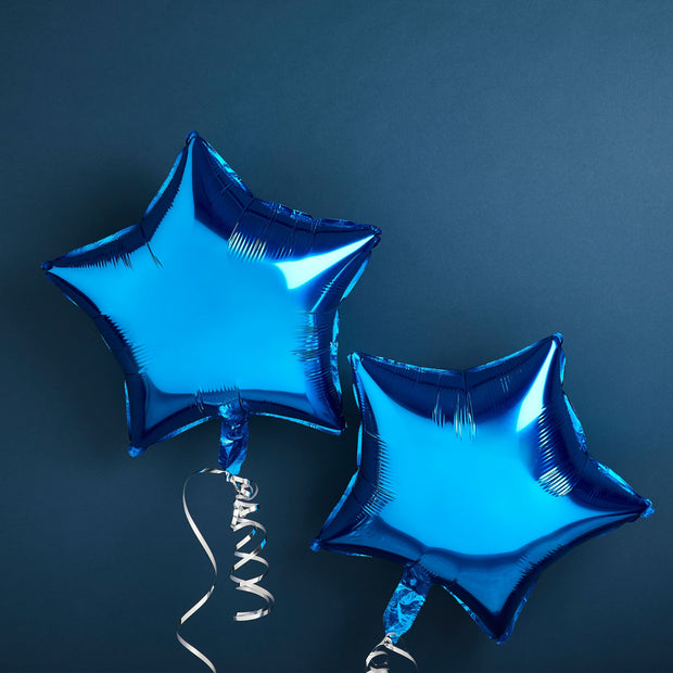 Blue Star Baby Shower Balloons, Baby Shower Decorations, Neutral Baby Shower, Gender Reveal, New Baby Party, New Arrival