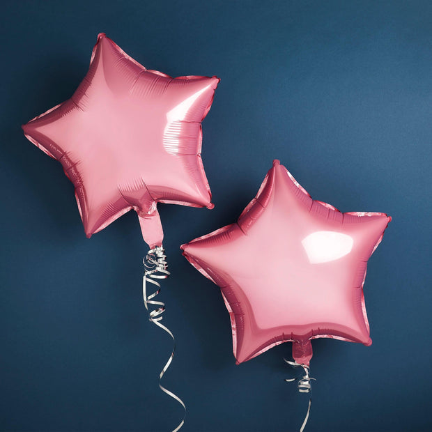 Pink Star Baby Shower Balloons, Baby Shower Decorations, Neutral Baby Shower, Gender Reveal, New Baby Party, New Arrival