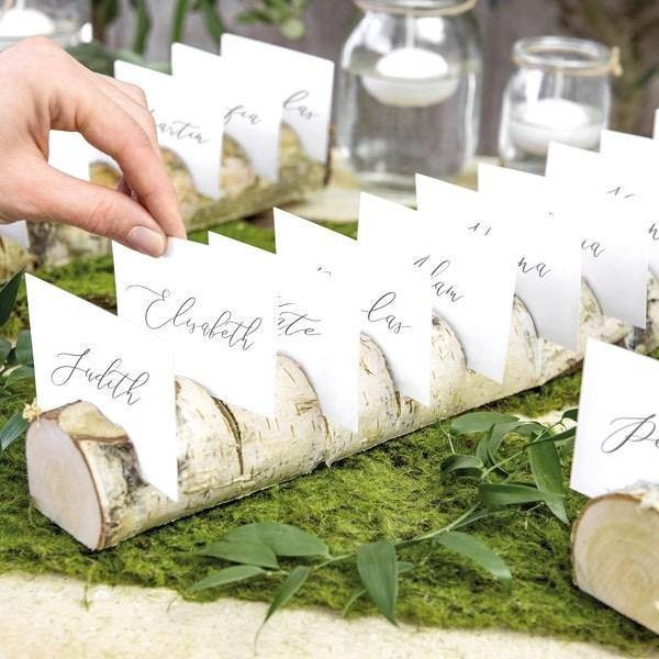 1 Wooden Place Card Holder - HoorayDays