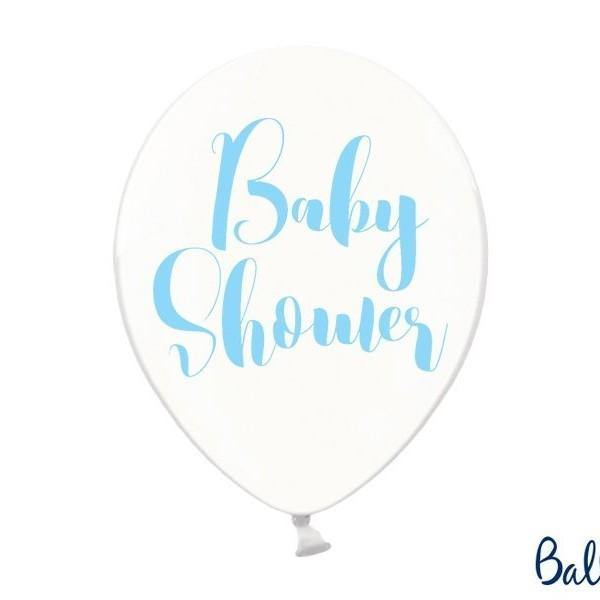 10 Blue Baby Shower Balloons