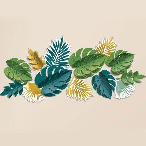 13 Tropical Leaf Decorations - HoorayDays