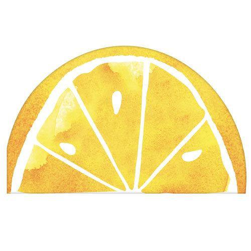 16 Lemon Napkins - HoorayDays