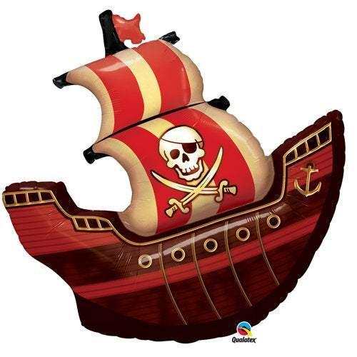 40 Inch Pirate Ship Balloon - HoorayDays