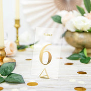 Gold Table Numbers 1-20 - HoorayDays