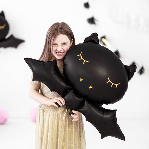 Halloween Black Bat Balloon - HoorayDays
