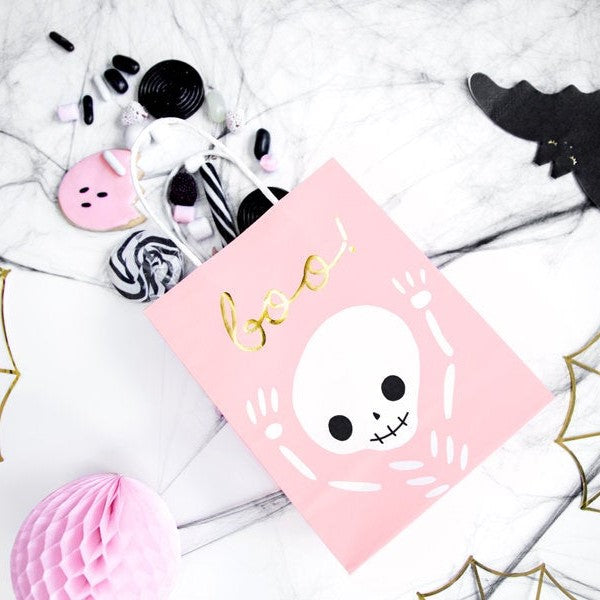 6 Halloween Party Bags - HoorayDays