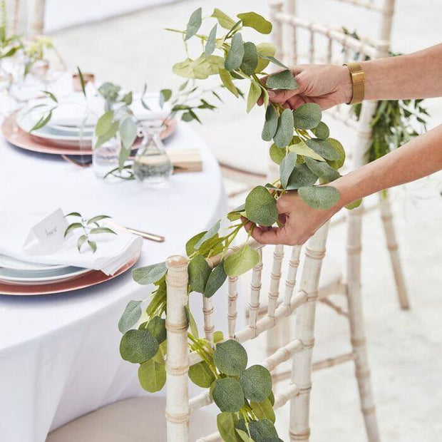 Artificial Eucalyptus Garland - HoorayDays