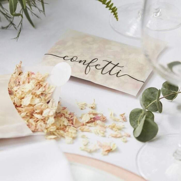 Rose Petal Biodegradable Confetti - HoorayDays