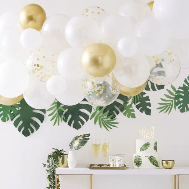 Gold Balloon Garland Kit, Wedding Decorations, Baby Shower Decorations, Birthday Party Balloons, Hen Party Decorations, Party Backdrop - HoorayDays