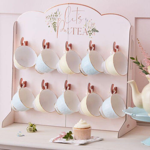 Blush Tea Party Cup Holder - HoorayDays