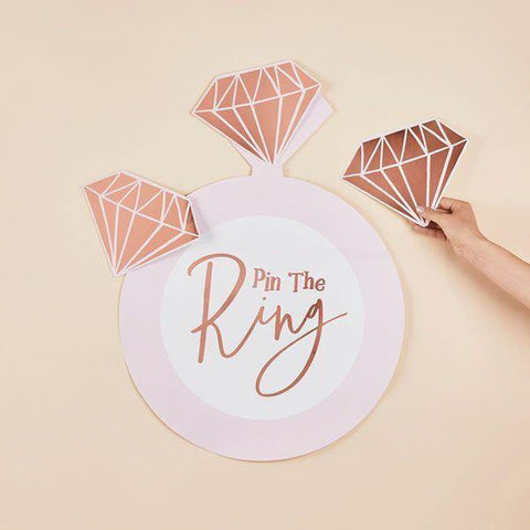 Pink Rose Gold Hen Party Game - HoorayDays