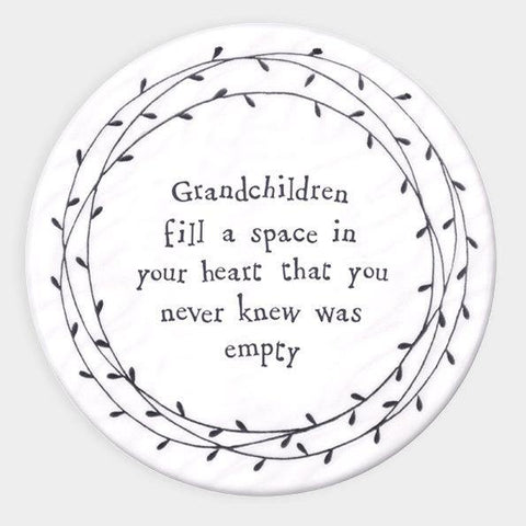 Grandchildren Drinks Coaster - HoorayDays