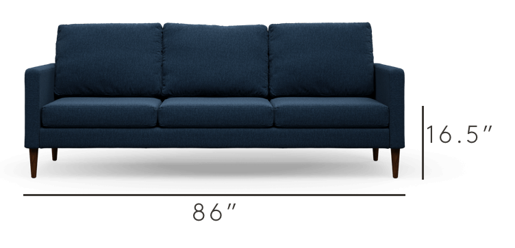 The Modern Sofa by Campaign | Lifetime Warranty + Free Shipping