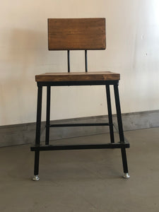 Metal bar Stool, Commercial Seating, Rustic Stool, Bar Stool, Counter Stool- Nantucket