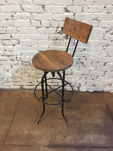 The Ranch  Stool - Hammered in Time