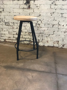 Vineyard Stool - Backless swivel bar stool- swivel bar stool - counter height stool - swivel stool