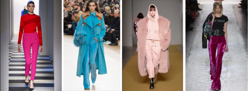 02b3cdeedff How to Wear Bright Colors in Winter 2018