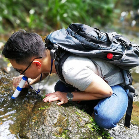 Outdoor Water Purifier - Perfect for Hikes