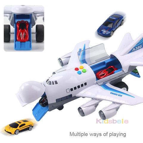 Simulation Track Airplane &  Vehicles Storage Toys