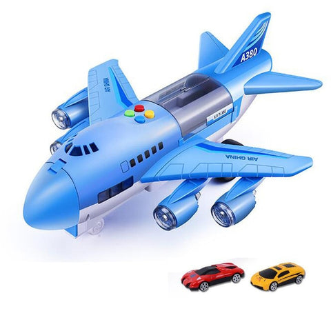 Image of Simulation Track Airplane &  Vehicles Storage Toys