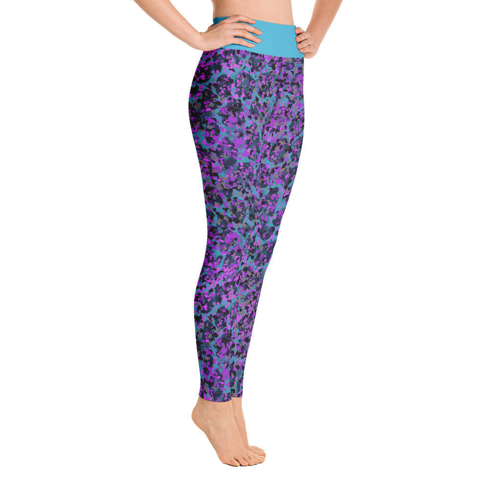 Funky Leopard WorkOut Leggings