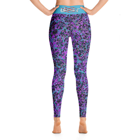 Image of Funky Leopard WorkOut Leggings