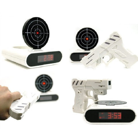 Infrared Shooting Alarm Clock - Creative Gift