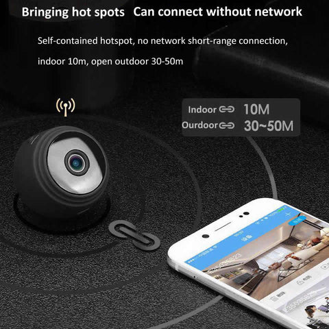 Image of 1080p Mini Wifi Night Vision Camera