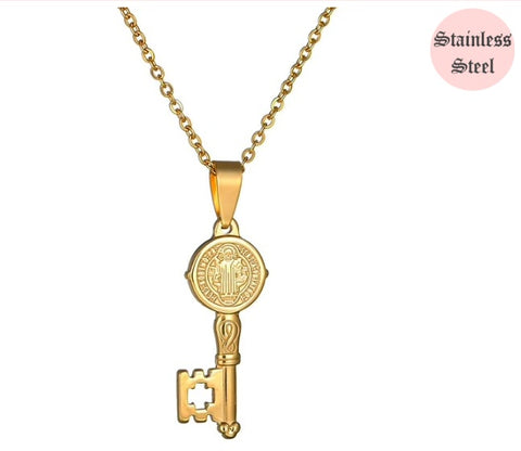 Image of Key To My Heart Necklace