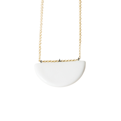 14K GF Half Moon Necklace