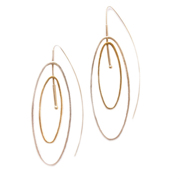 LO Double Oval Earrings