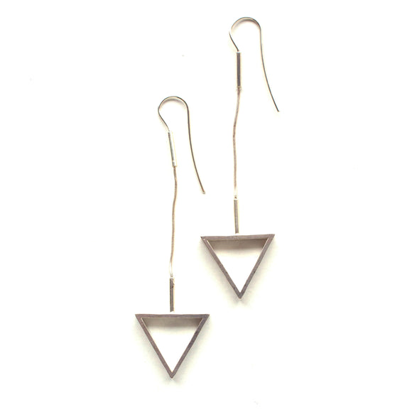 Flexible Triangle Earring