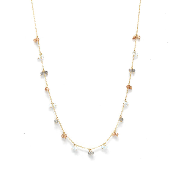 Champagne Quartz Necklace