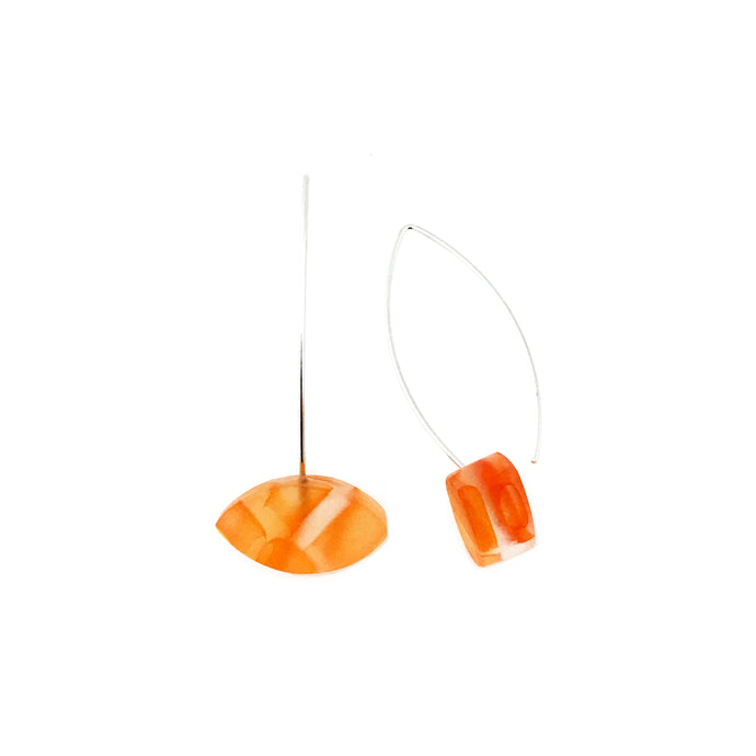Orange Incalmo Earrings