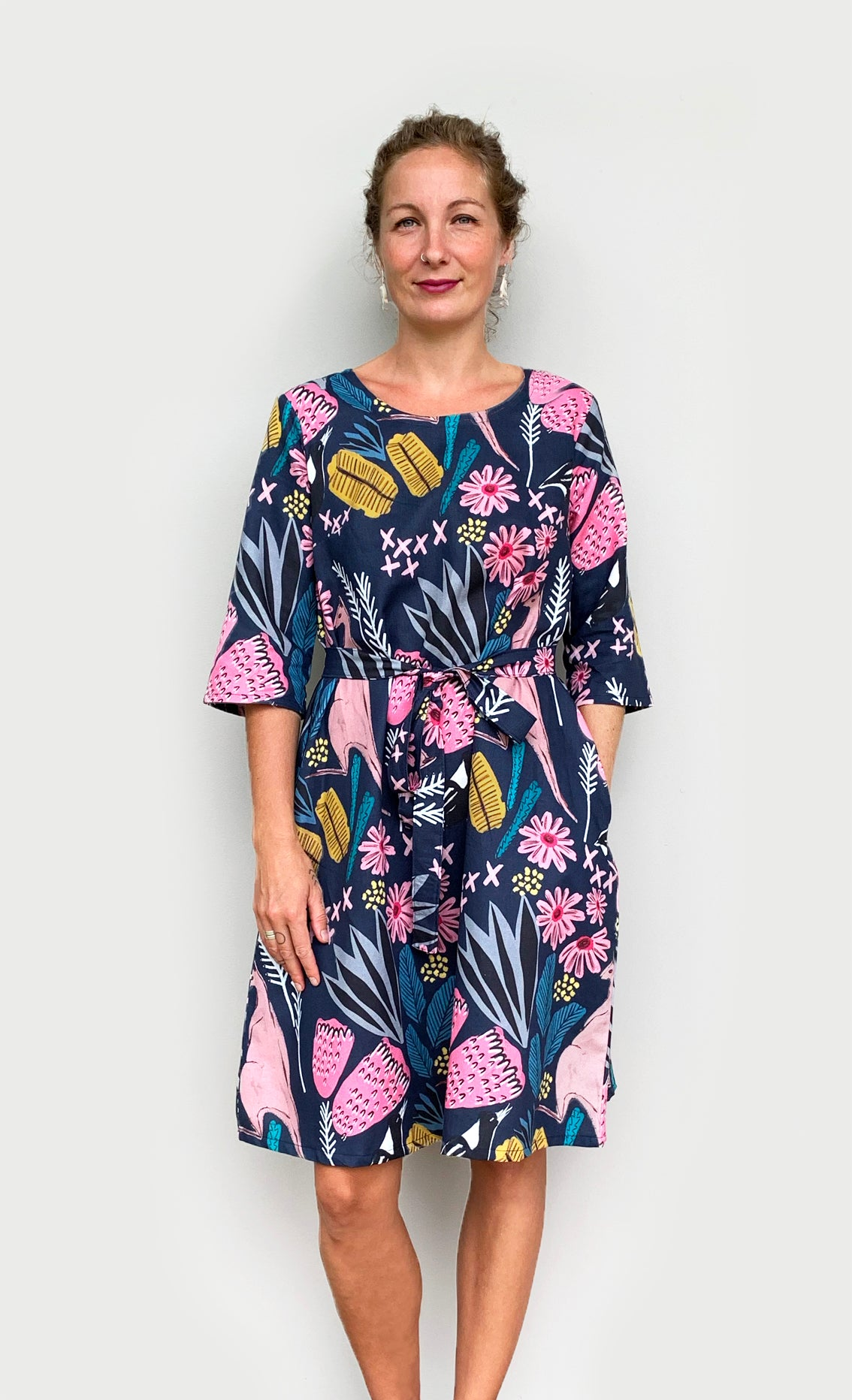 Cowley Fields dress (option cotton or linen)