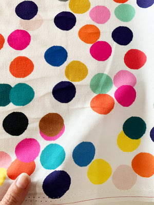 Large Confetti linen cotton