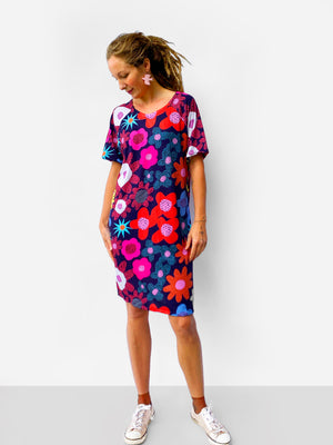 Blink Bloom 100% organic jersey T'dress