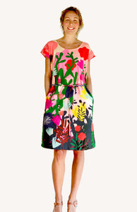 Mor Mor's Garden 100% cotton dress with pockets