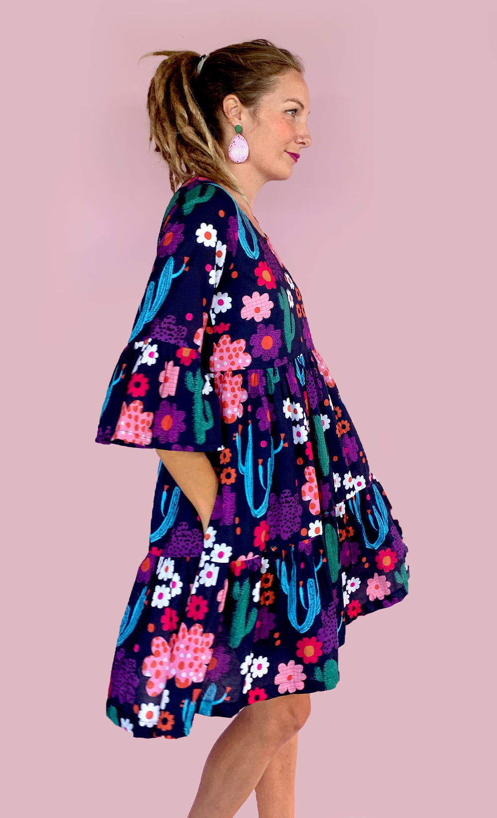 Bloom dress 100% cotton (2 styles. Swipe to see images of option 2)