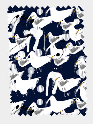 Sea Gull 100% cotton satin