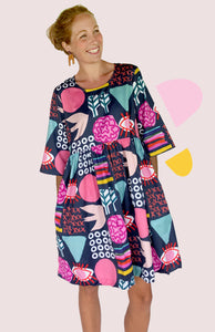 PRE - ORDER Bliss Play 100% organic cotton dress