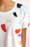Paint 100% Organic Jersey Cotton T'shirt