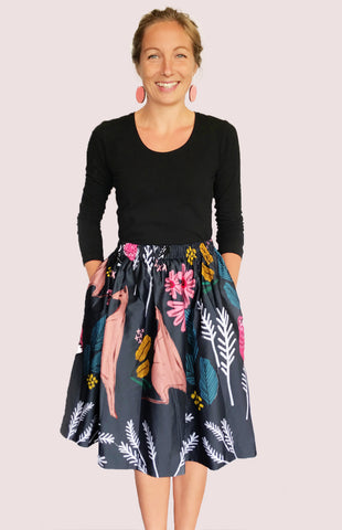 Cowley Fields organic cotton skirt