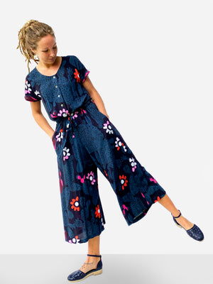 Load image into Gallery viewer, Blink Cacti 100% cotton jumpsuit