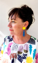 COLLABORATION WITH EACH TO OWN Native Wattle earrings