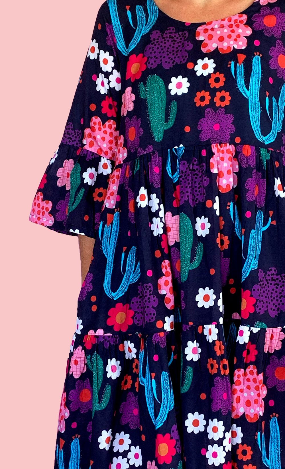 AVAILABLE NOW Bloom dress 100% cotton (2 styles. Swipe to see images of option 2)